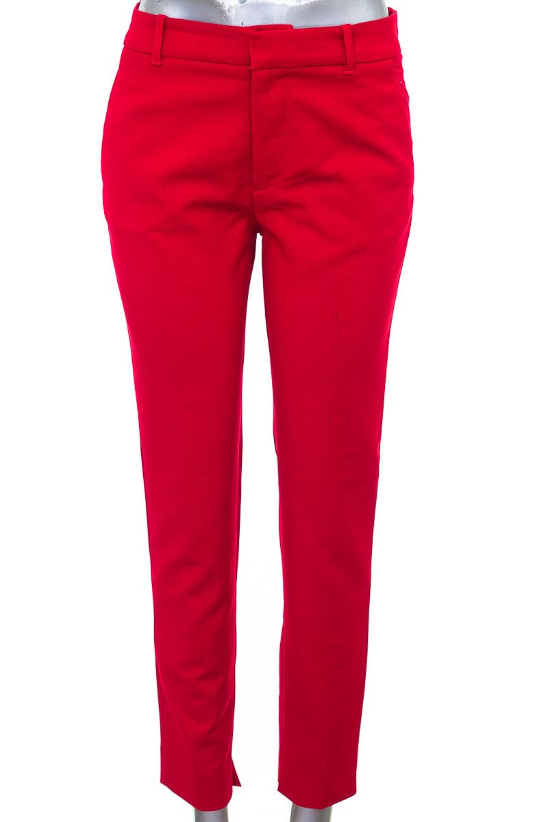 Pantalón color Rojo - Zara