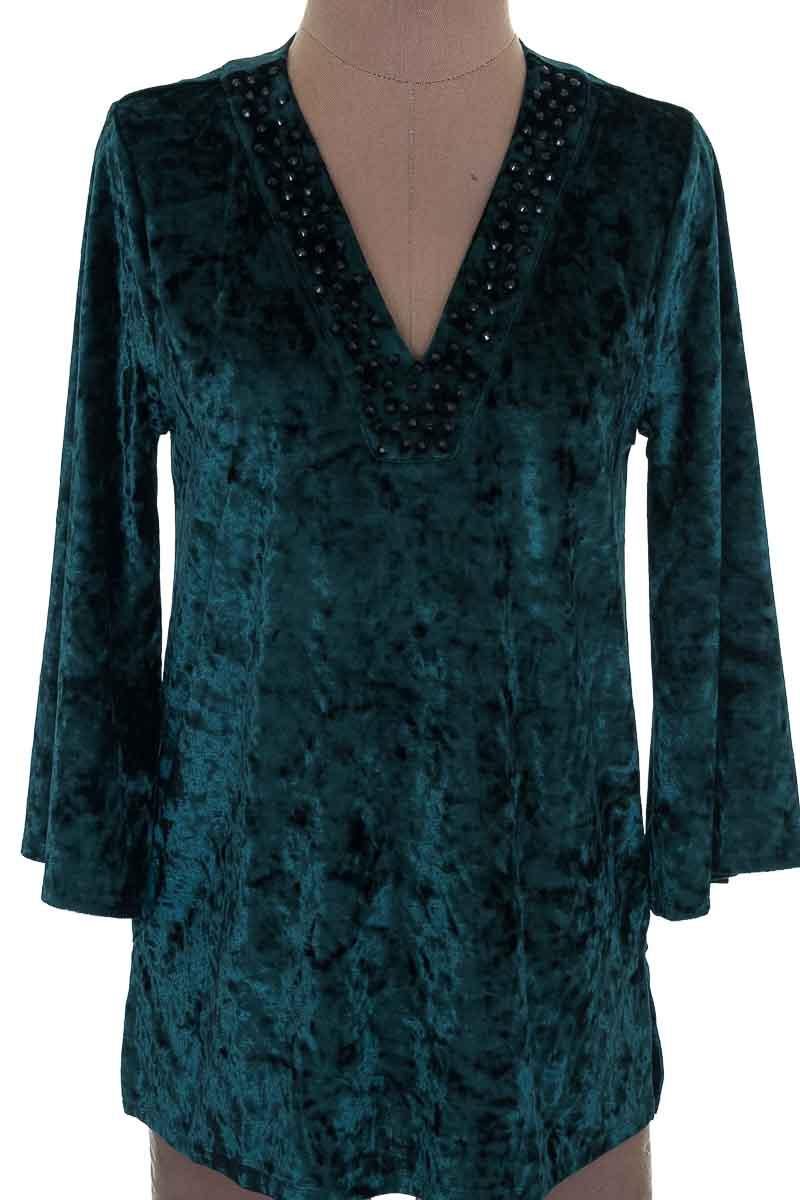 Blusa color Verde - Michael Kors