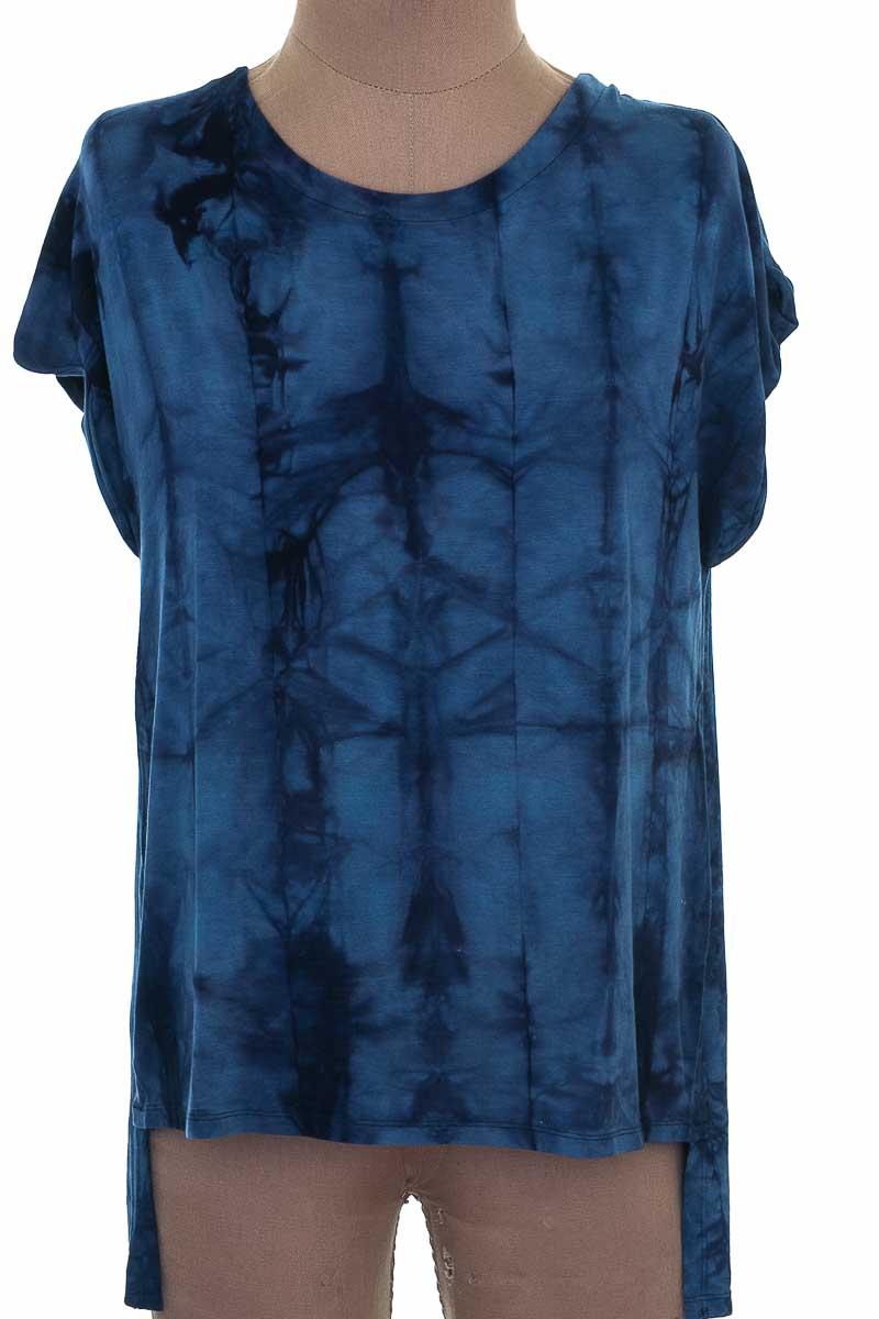 Top / Camiseta color Azul - Zara