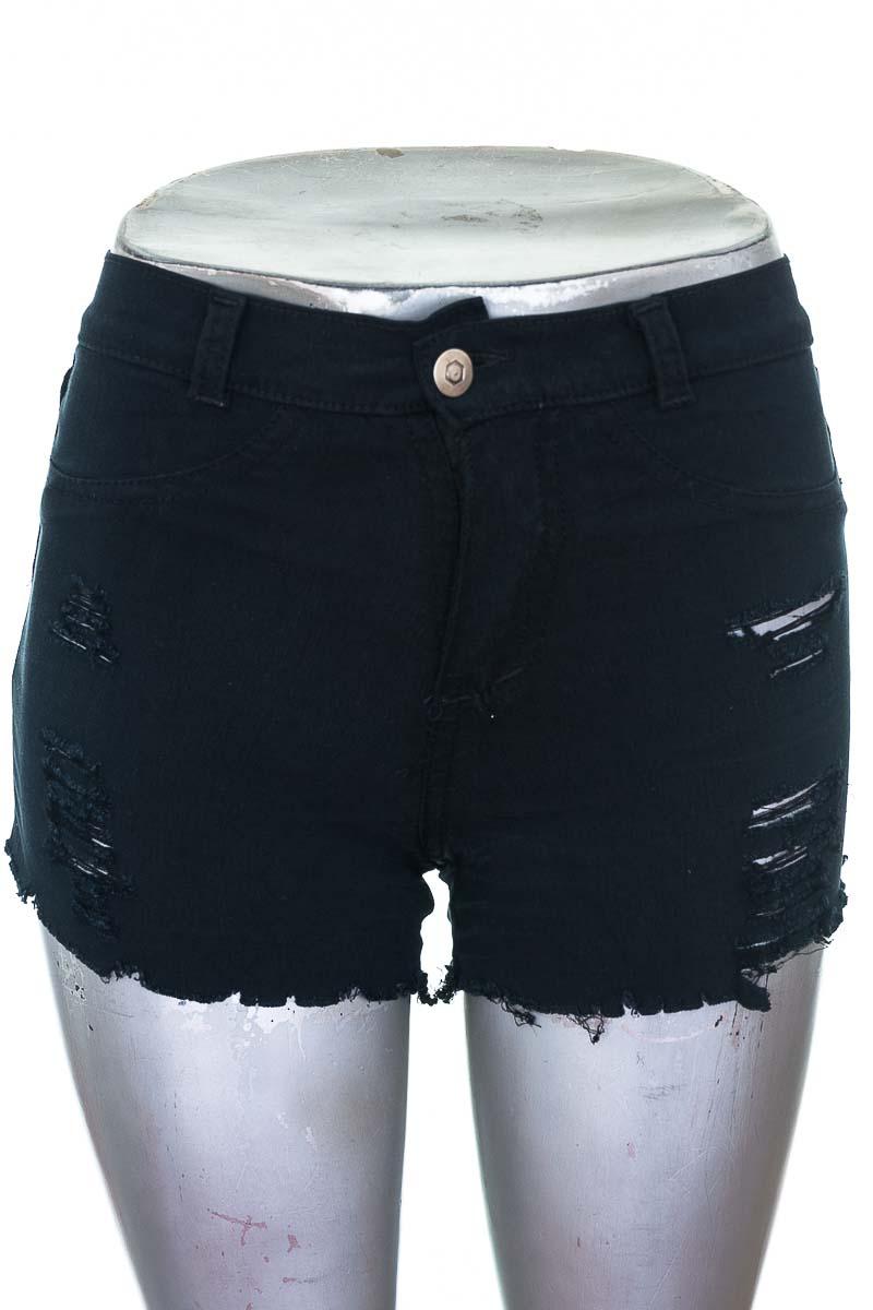 Short Jean color Negro - Closeando