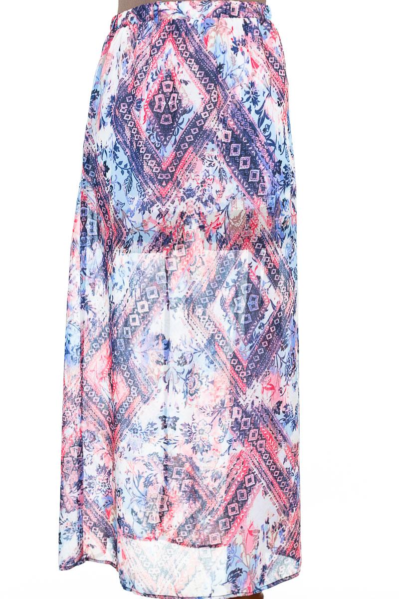 Falda Casual color Estampado - Ticket
