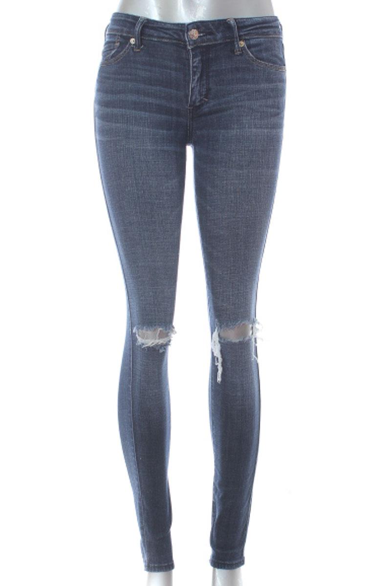 Pantalón Jeans color Azul - Abercrombie