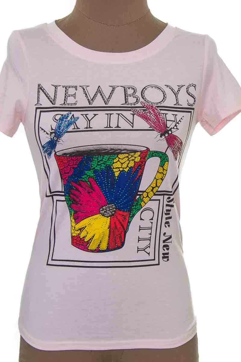 Top / Camiseta color Rosado - Zoompy