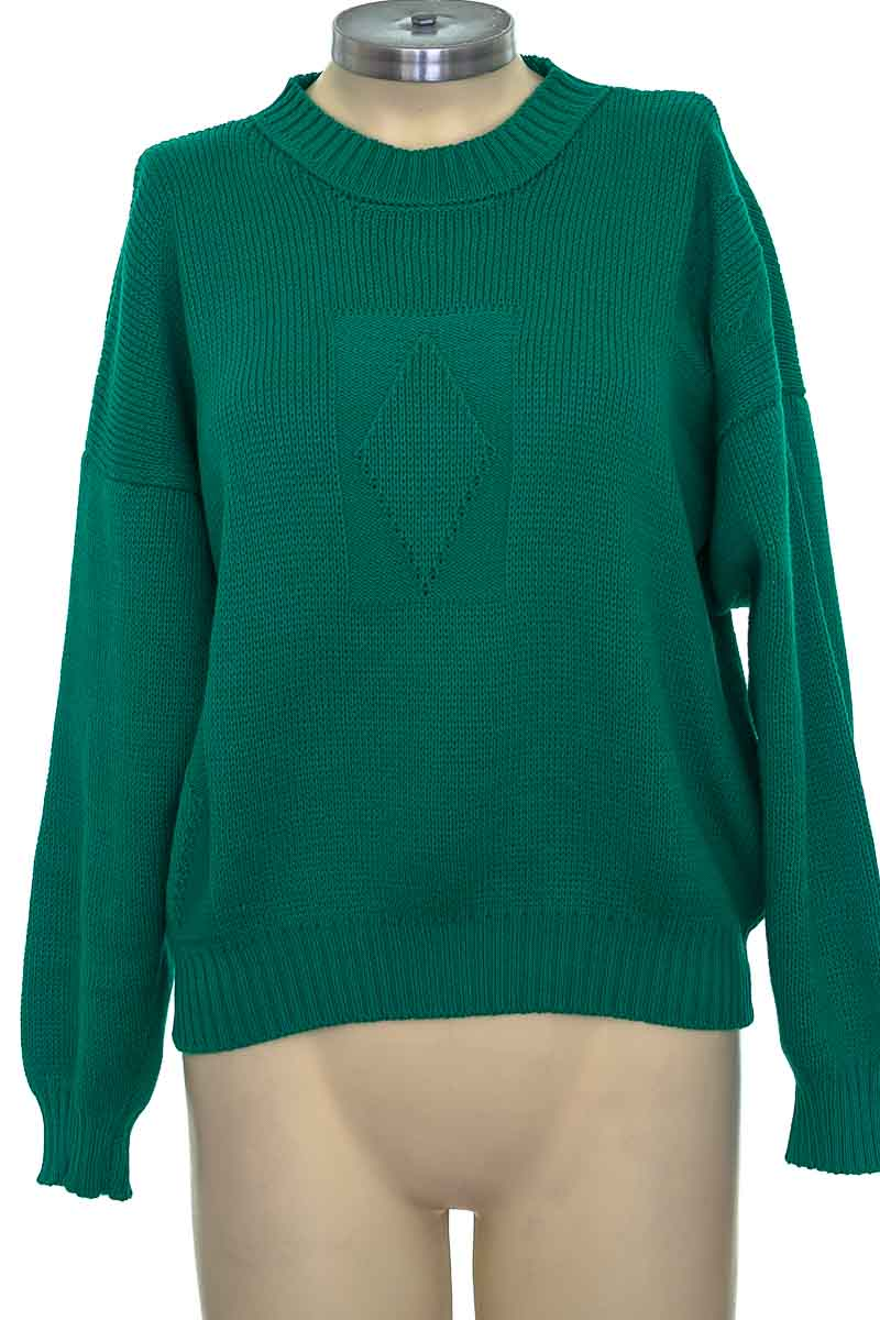 Sweater color Verde - Closeando