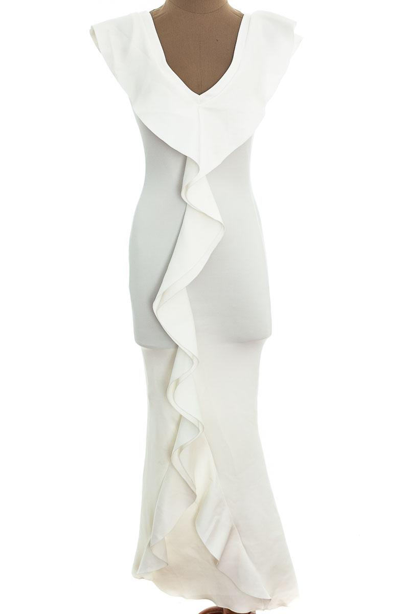 Vestido / Enterizo Casual color Blanco - STC Strictis