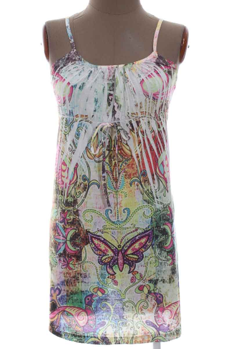 Vestido / Enterizo Casual color Estampado - HOT TEES