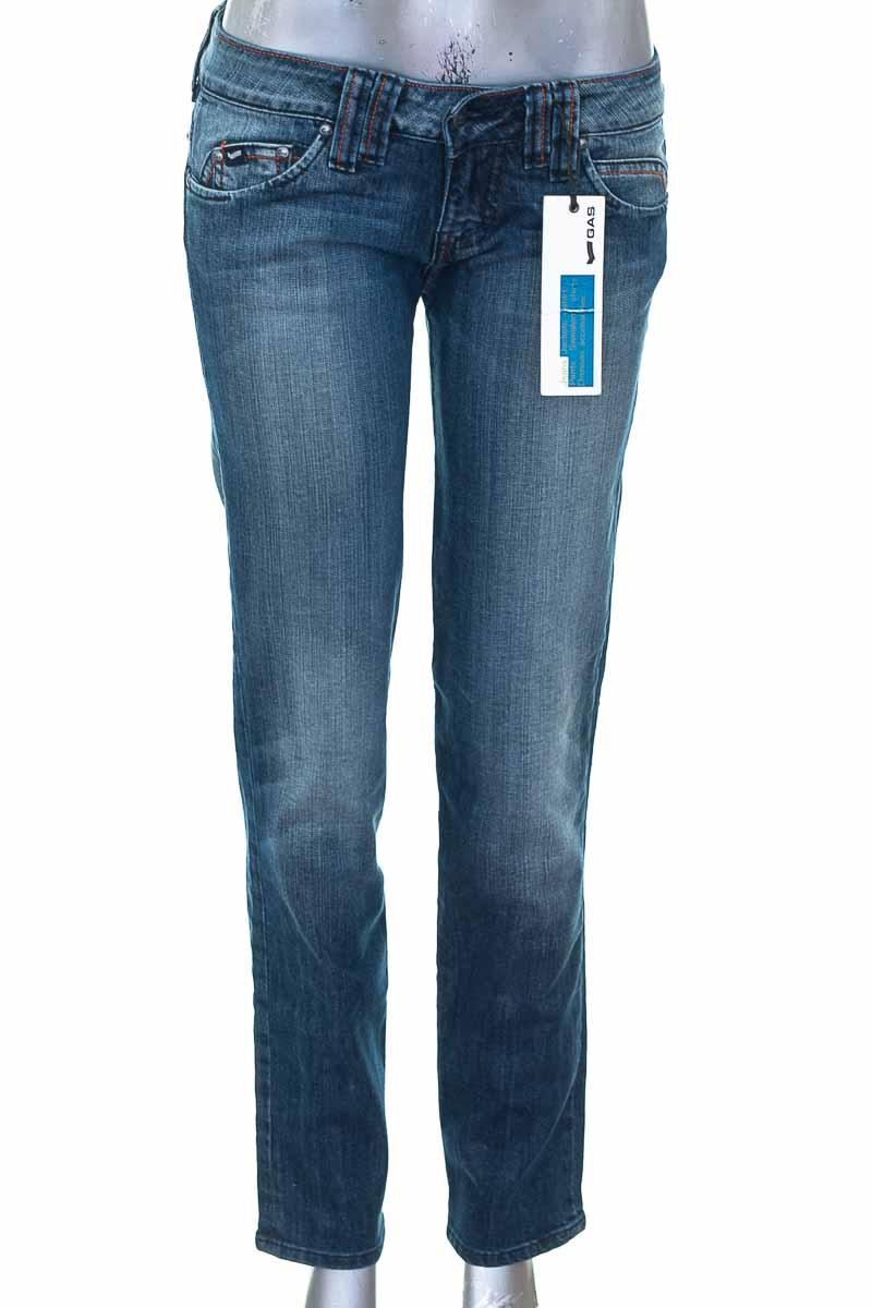 Pantalón color Azul - Gas