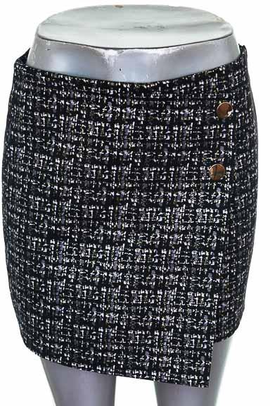 Short Casual color Negro - Zara