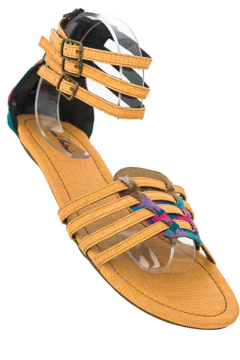 Zapatos Baleta color Amarillo - Michael Antonio