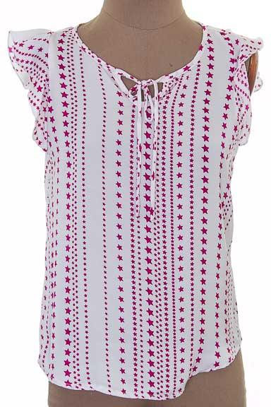 Top / Camiseta color Blanco - Azahar