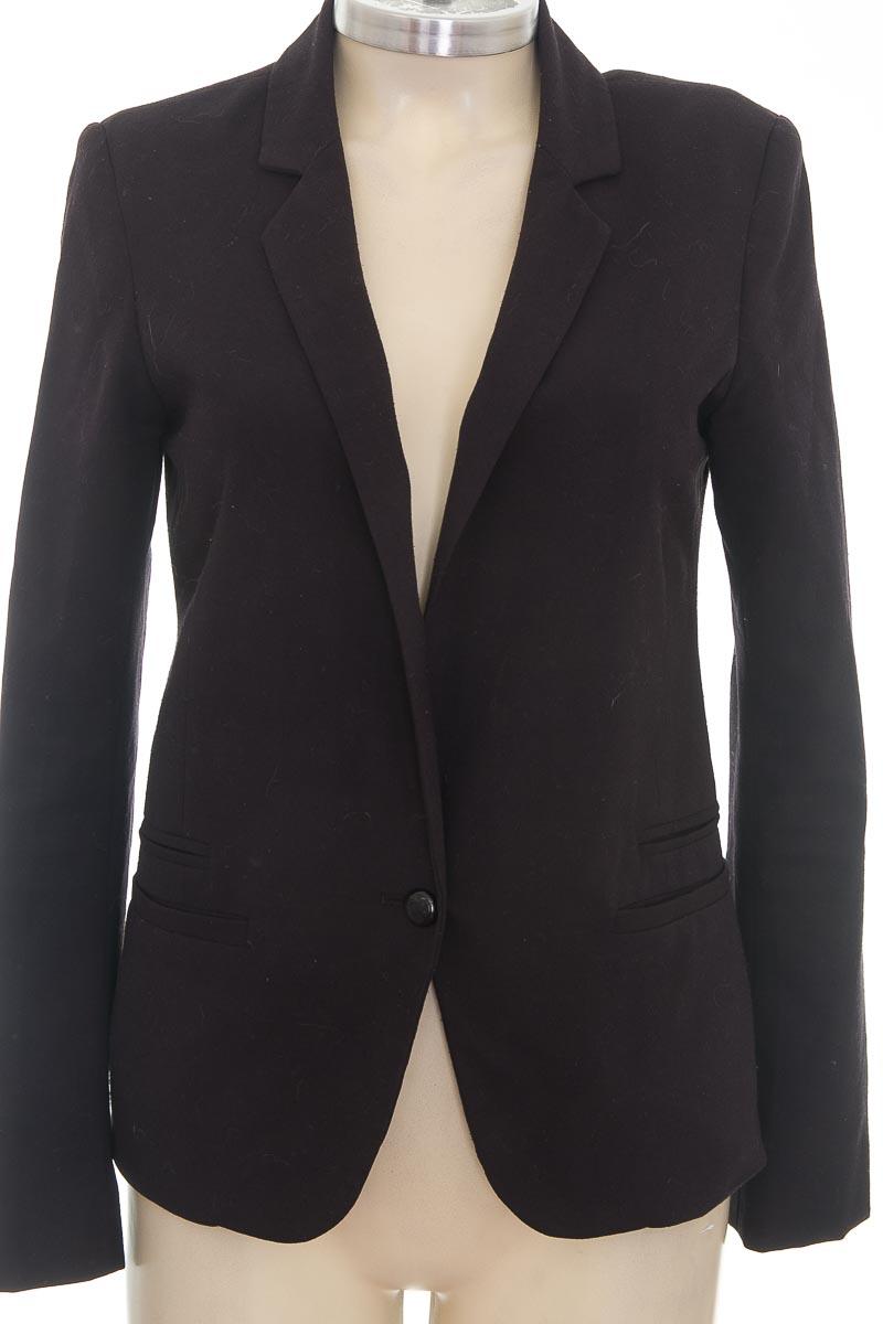 Chaqueta / Abrigo color Negro - Pull & Bear