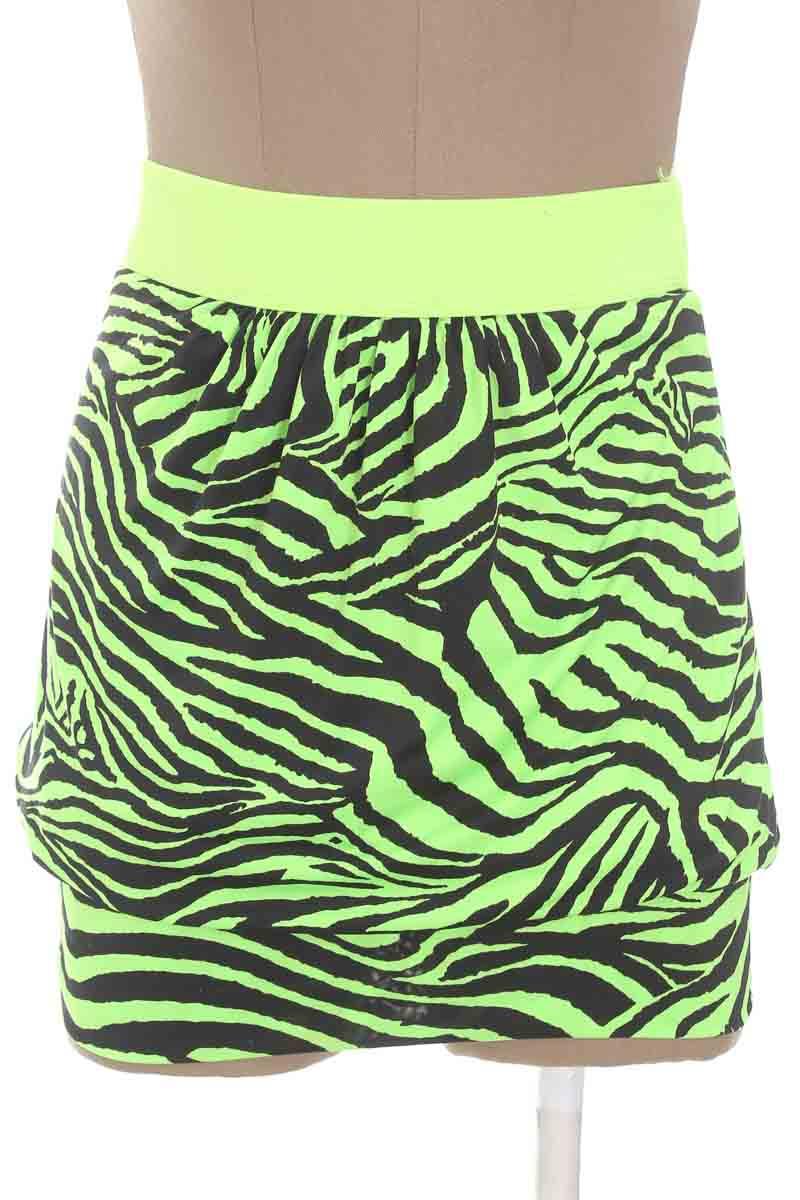 Falda Casual color Verde - Minimi