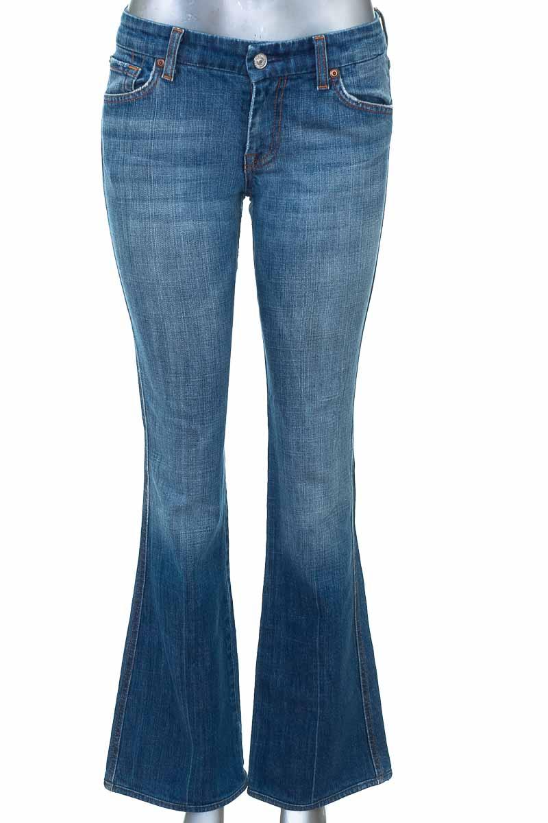 Pantalón Jeans color Azul - 7 For All Mankind