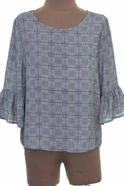 Blusa color Gris - YOURBAN