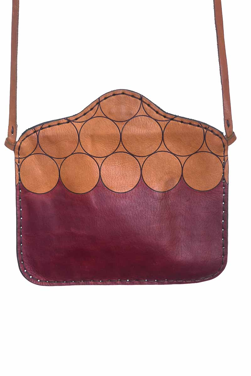 Cartera / Bolso / Monedero color Vinotinto - Closeando