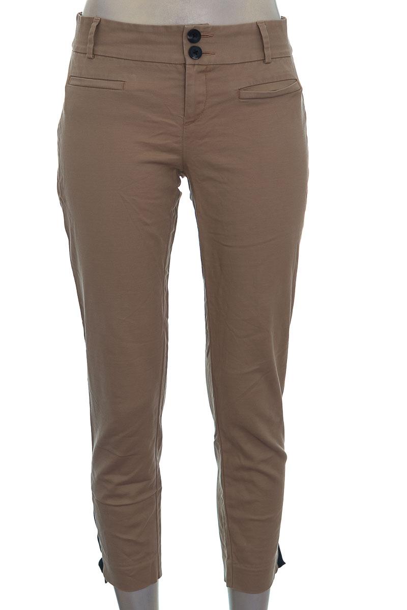 Pantalón color Beige - Cartonnier
