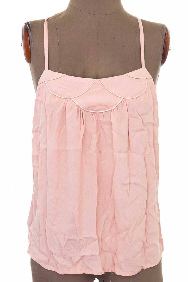 Blusa Casual color Rosado - Louizon