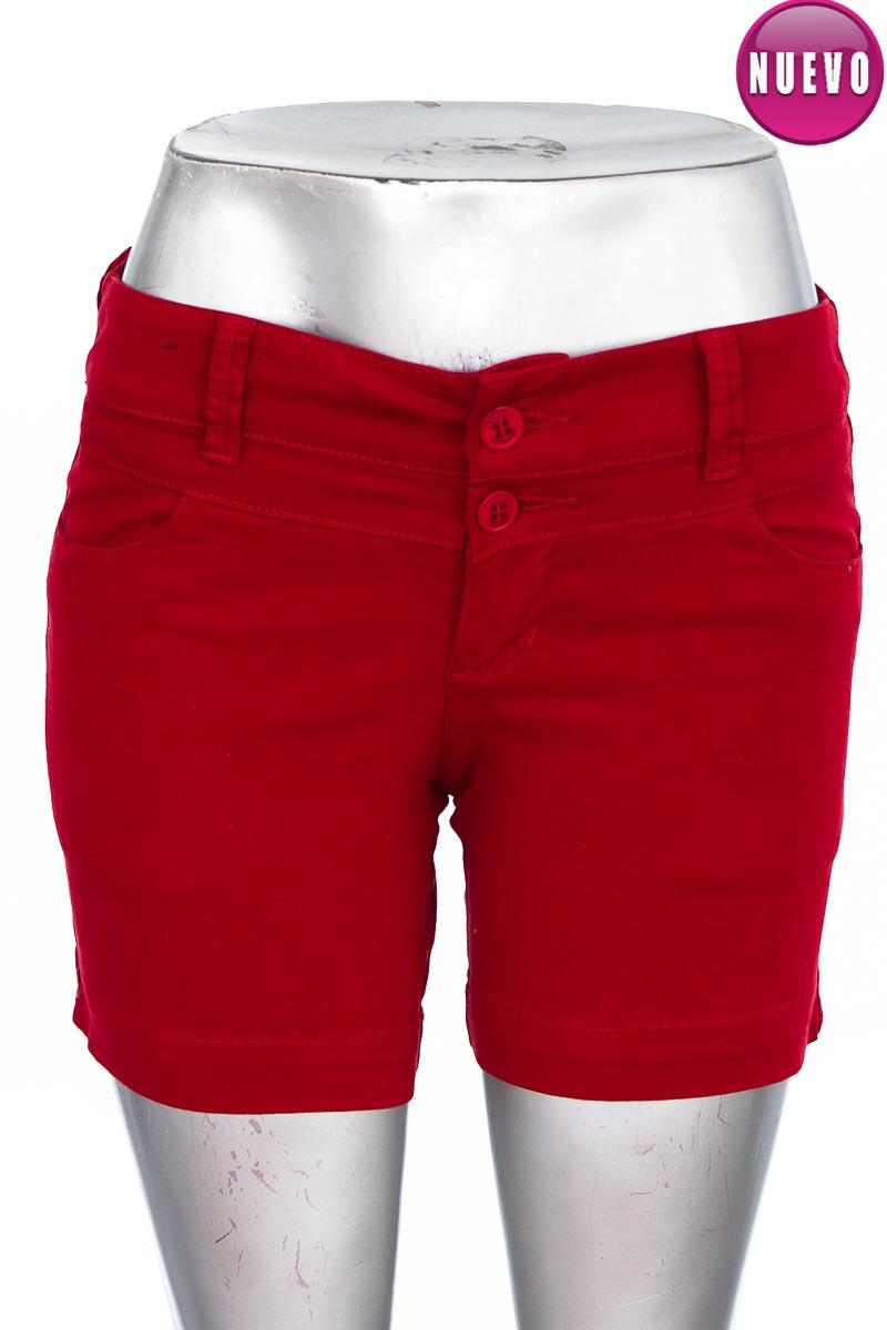 Short Jean color Rojo - Croquet