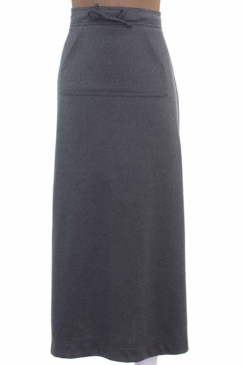 Falda Casual color Gris - Pronto