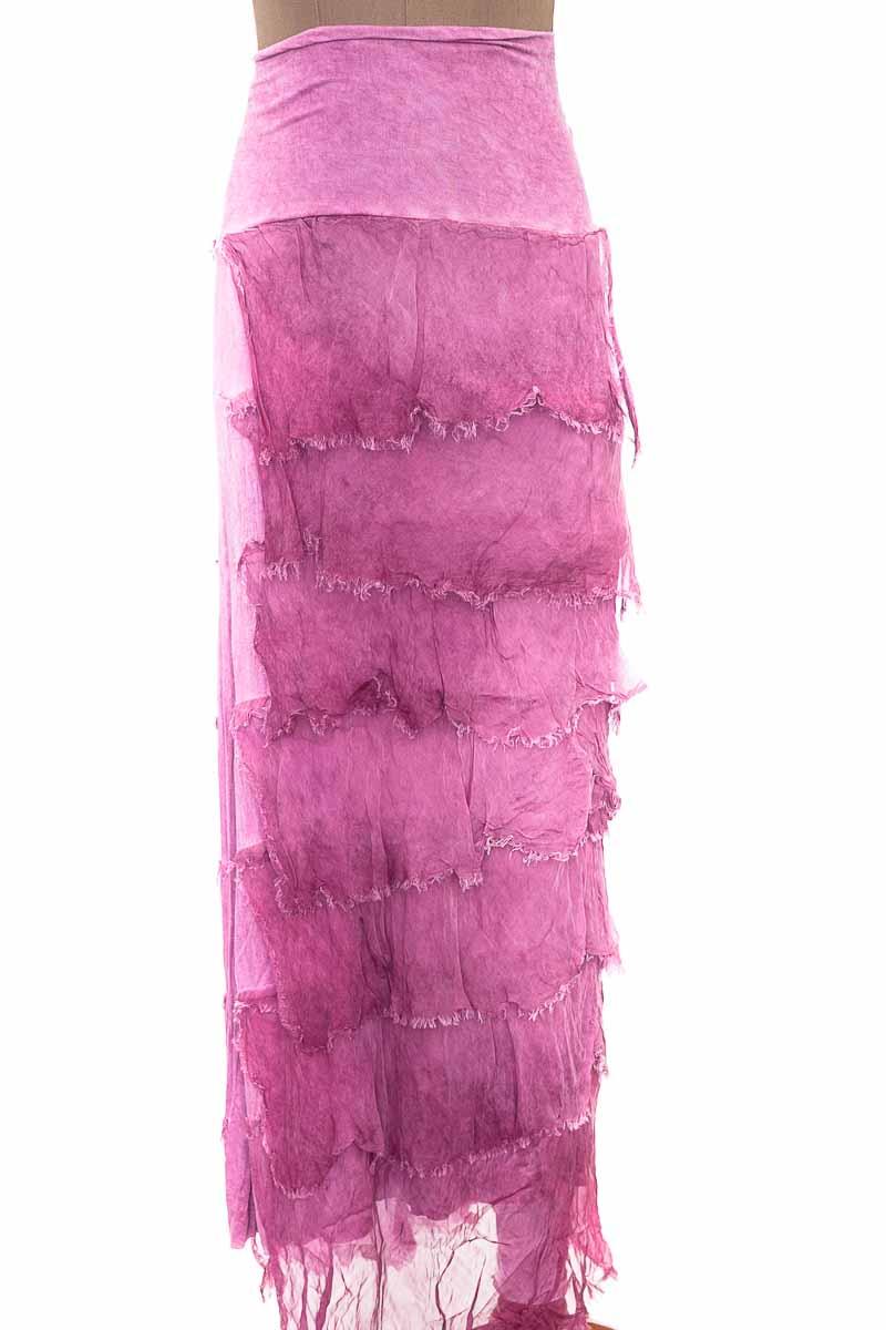 Falda Casual color Morado - SGANDAL