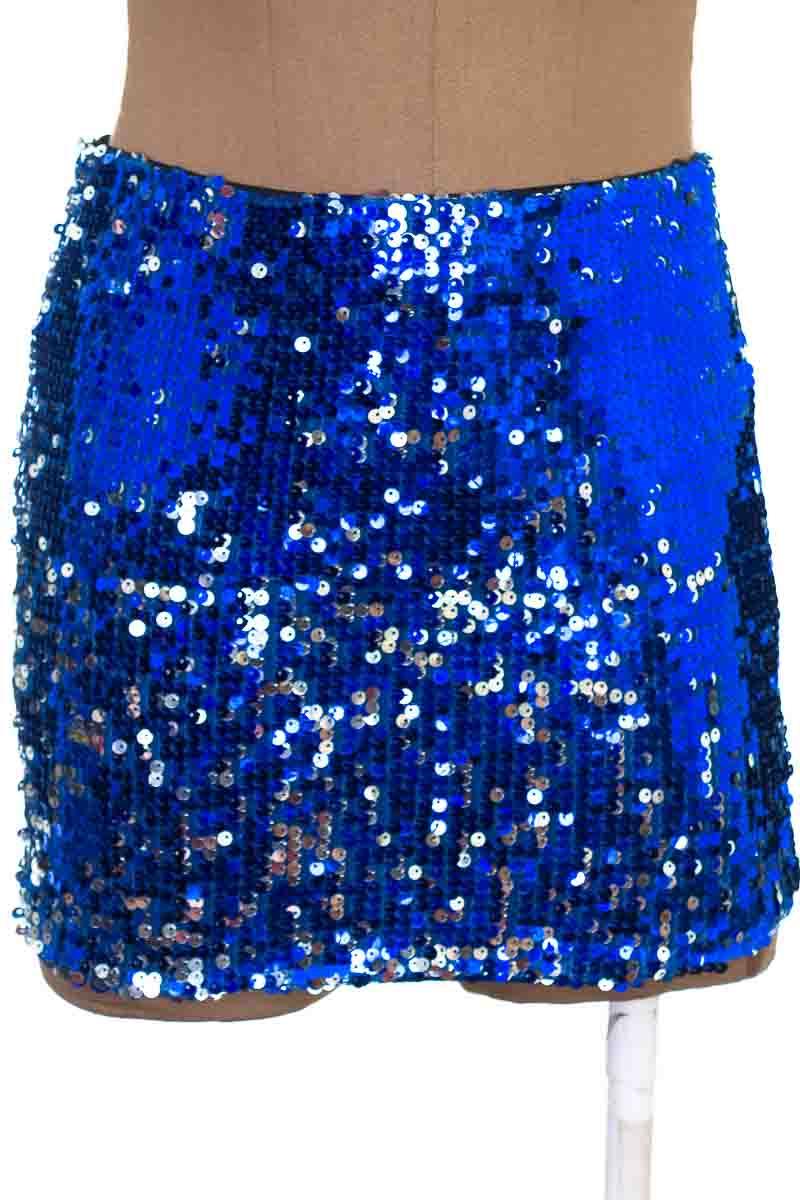 Falda Elegante color Azul - Forever 21