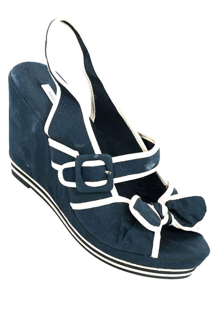 Zapatos color Azul - Bimba & Lola