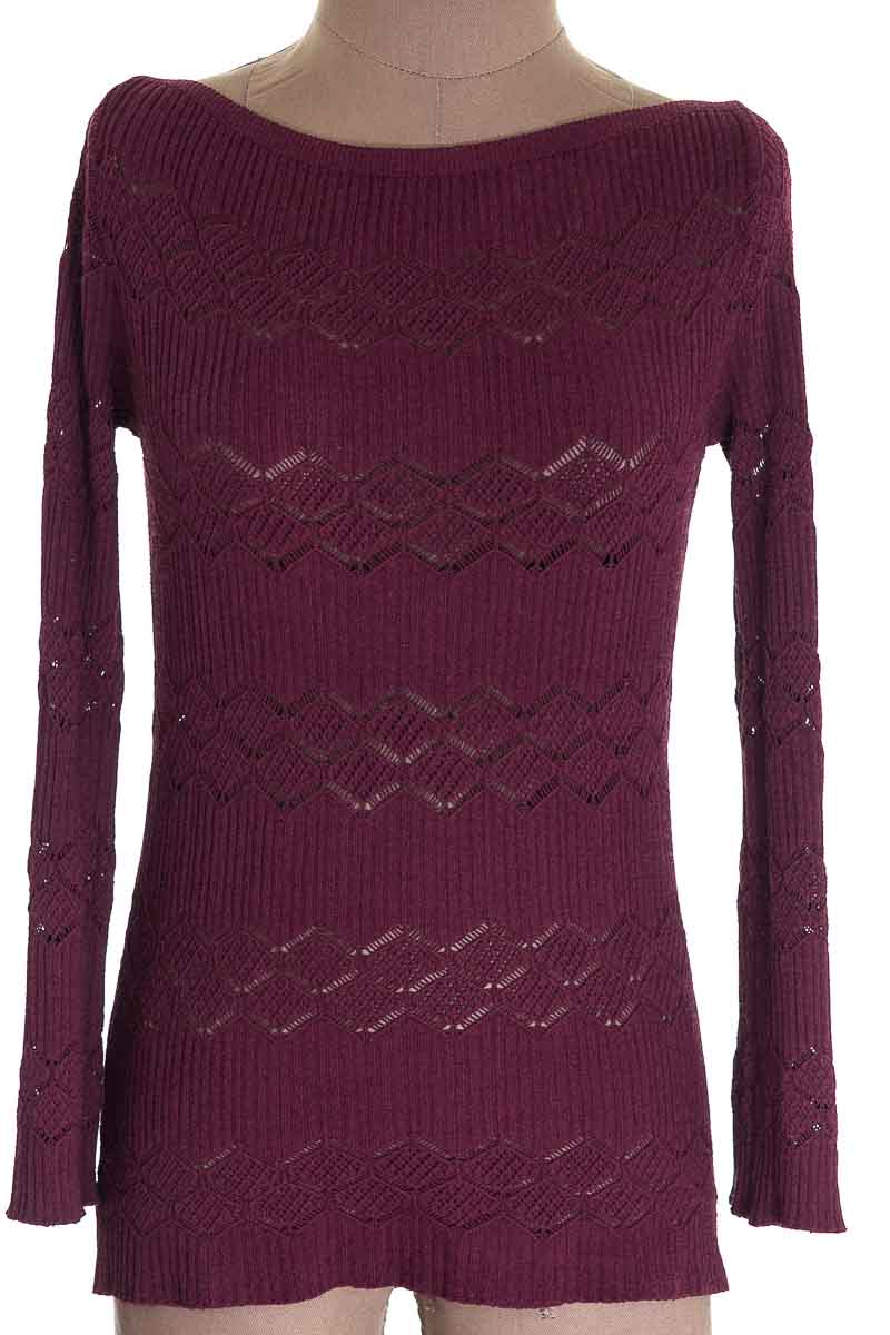 Sweater color Vinotinto - Wow Couture