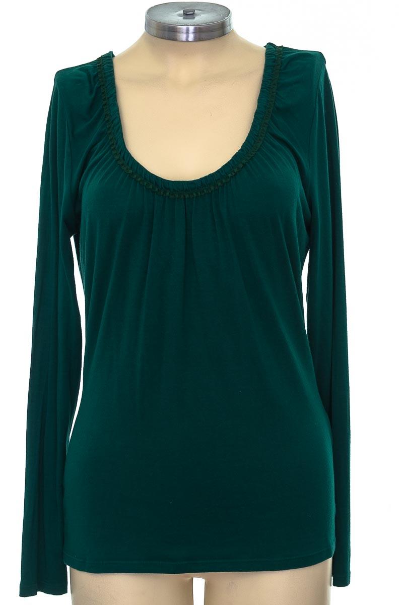 Blusa color Verde - Elie Tahari