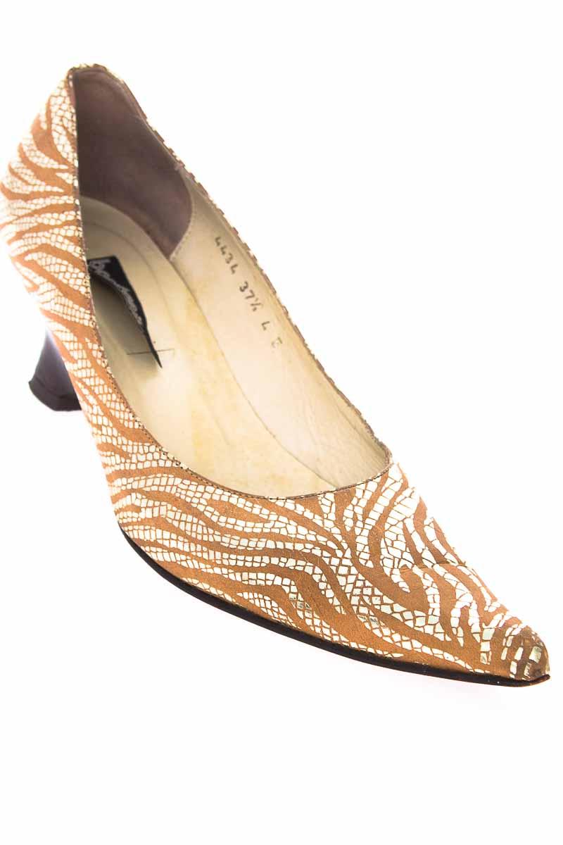 Zapatos Tacón color Beige - Bon Bonite