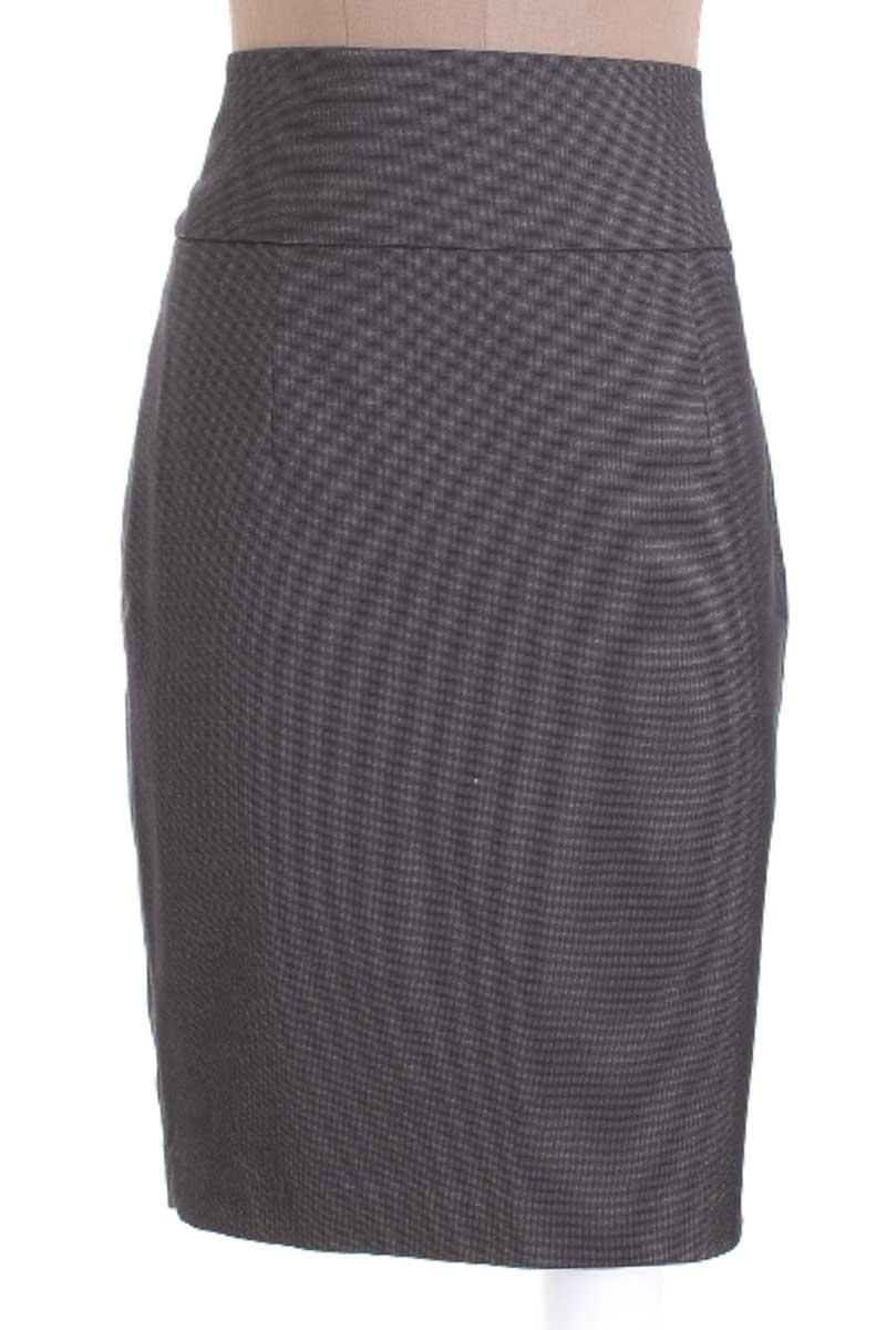 Falda Elegante color Gris - Zara