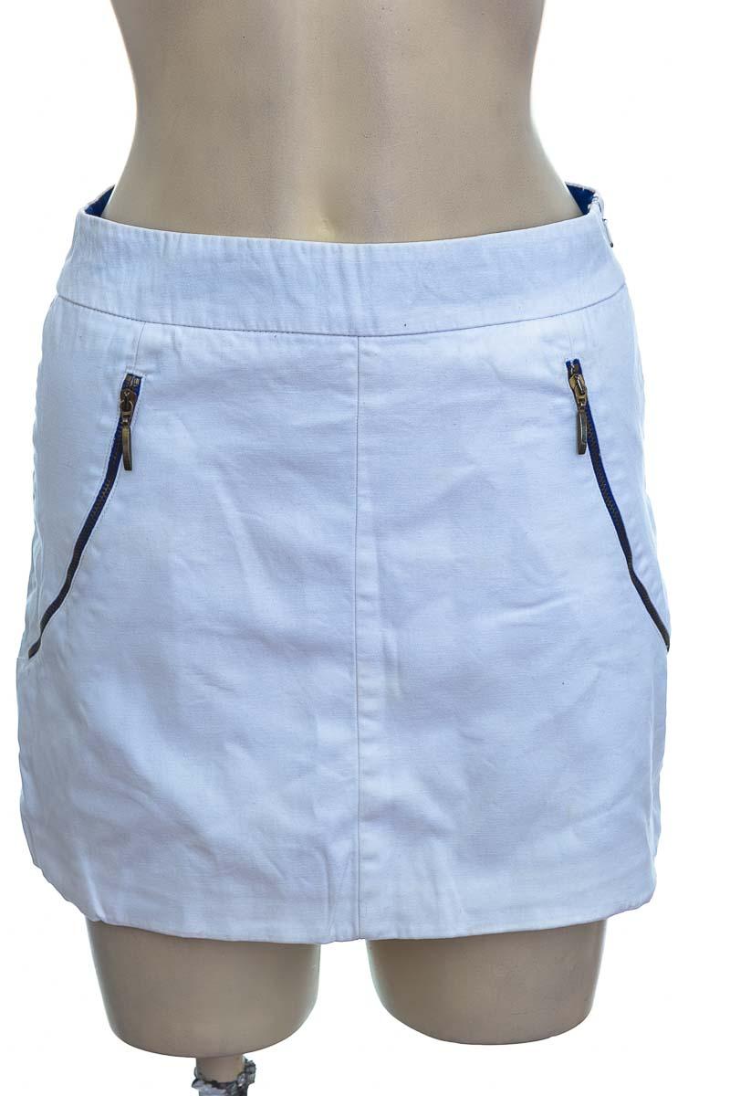 Falda color Blanco - Zara
