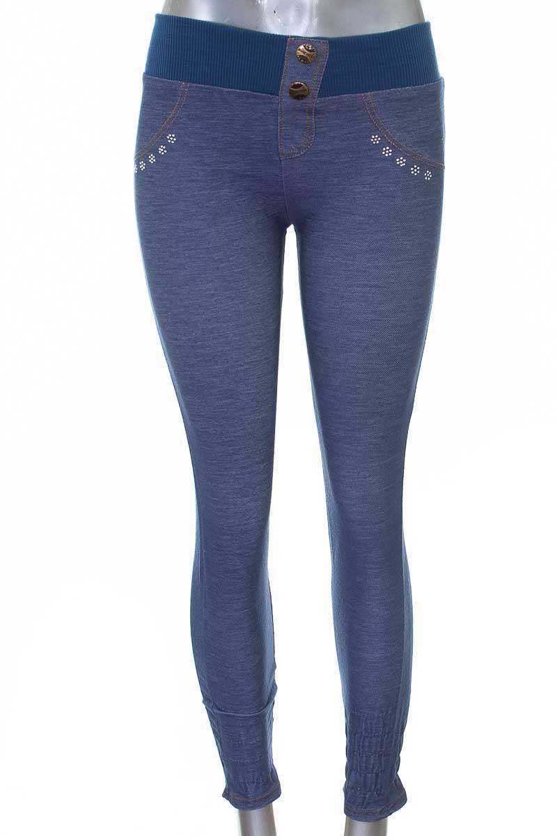 Pantalón color Azul - Linda