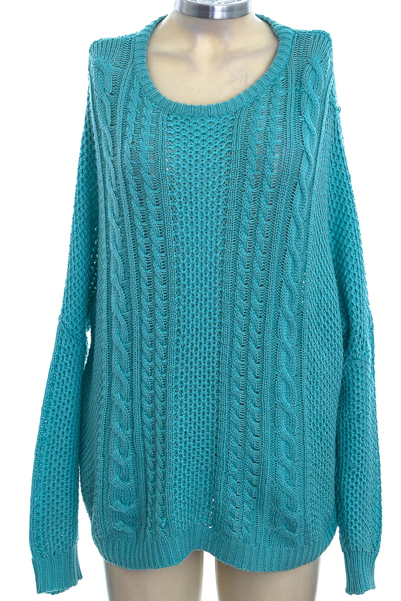 Sweater color Aguamarina - Forever 21