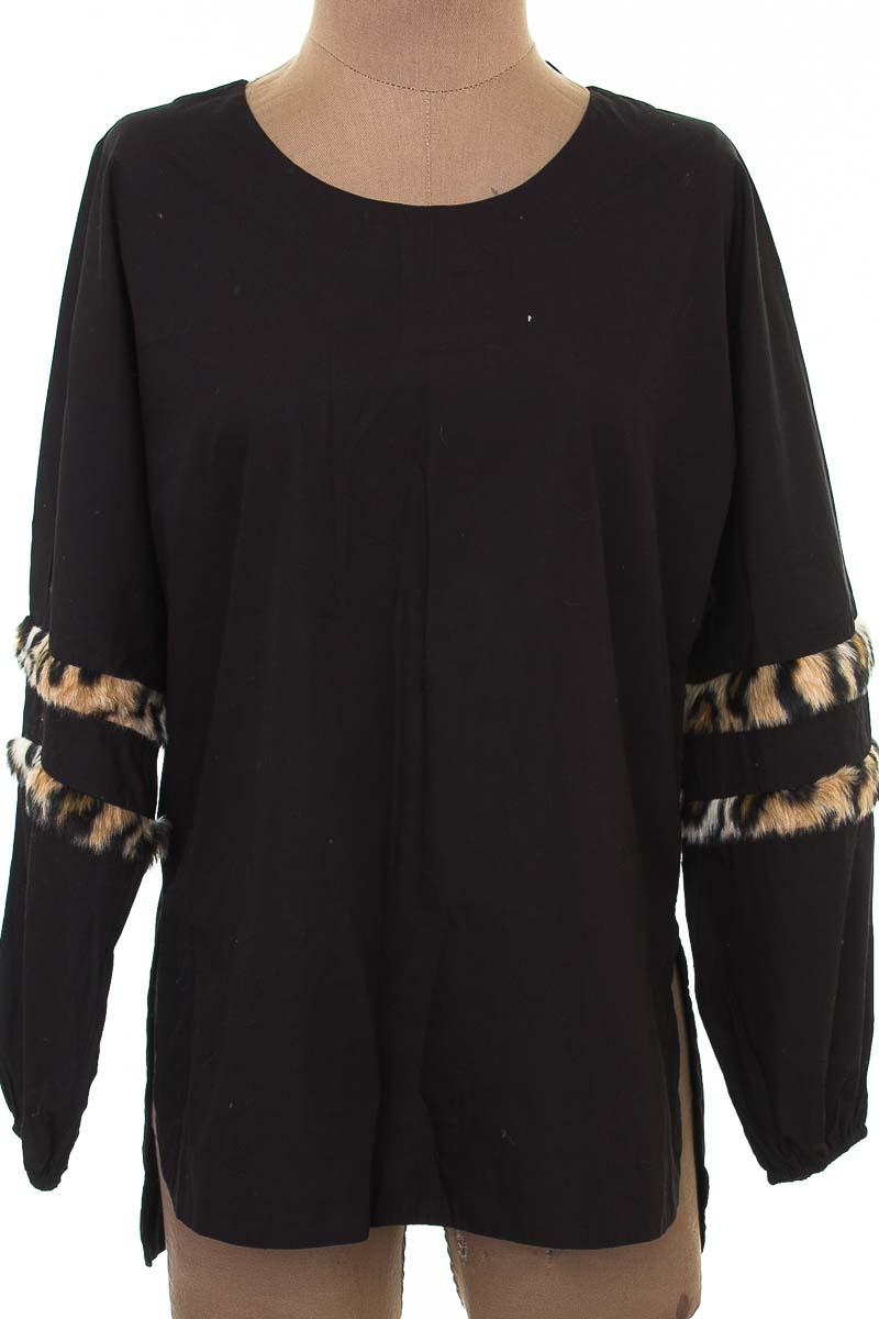 Blusa color Negro - Zara