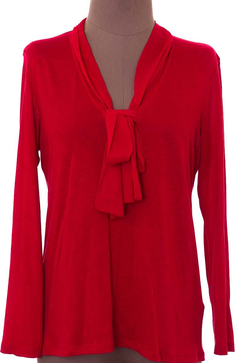 Sweater color Rojo - Massimo Dutti