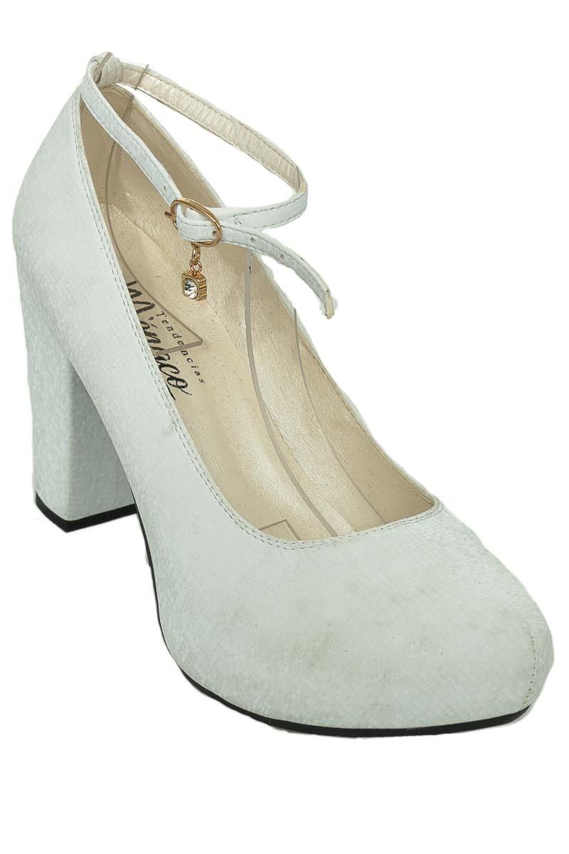 Zapatos color Blanco - Tendencias Monaco