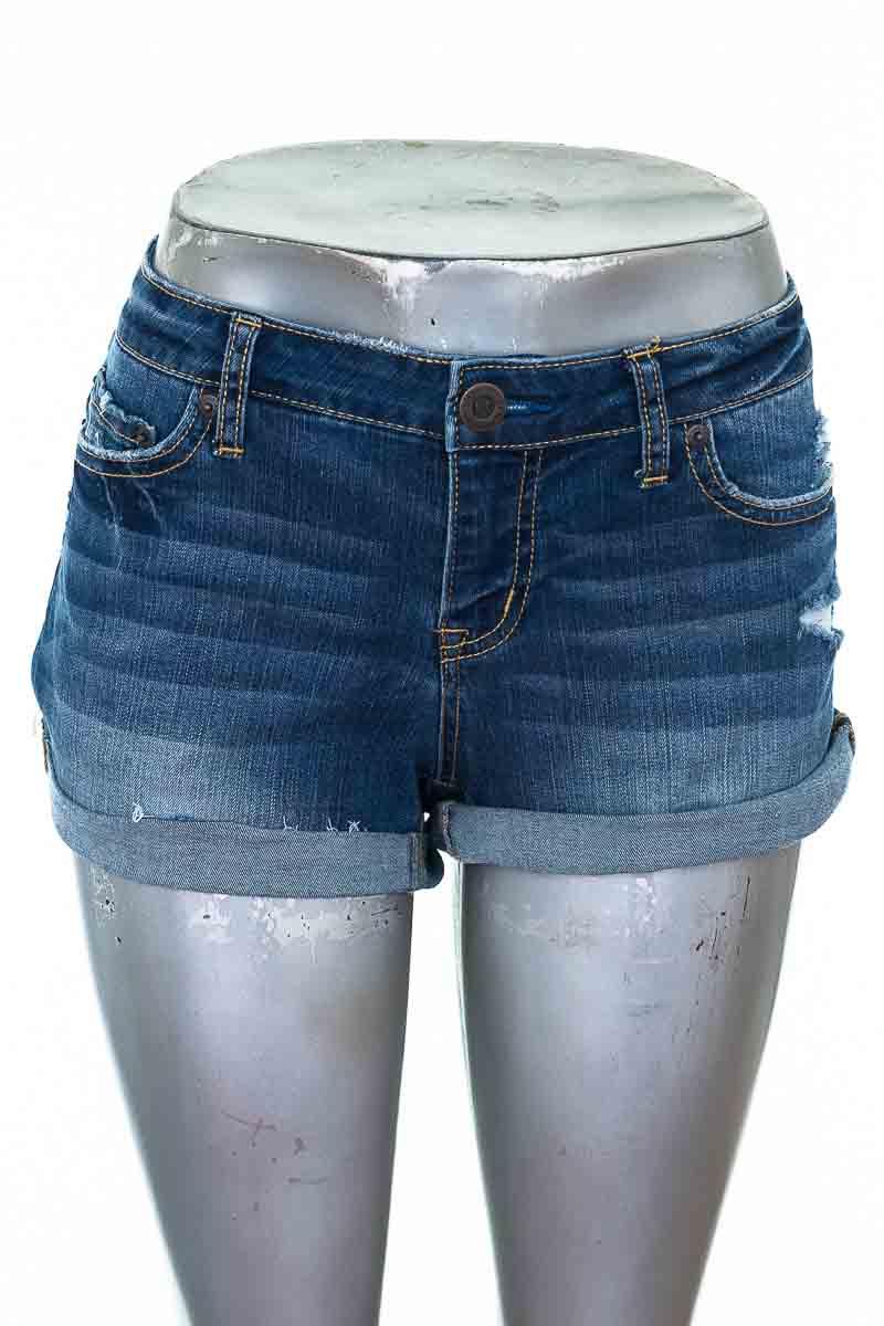 Short Jean color Azul - Aeropostale