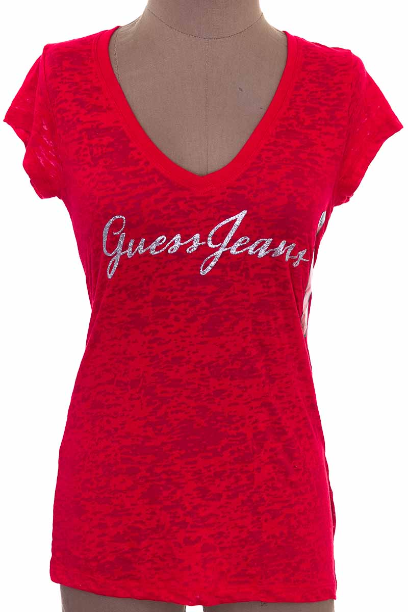 Top / Camiseta color Rojo - Guess