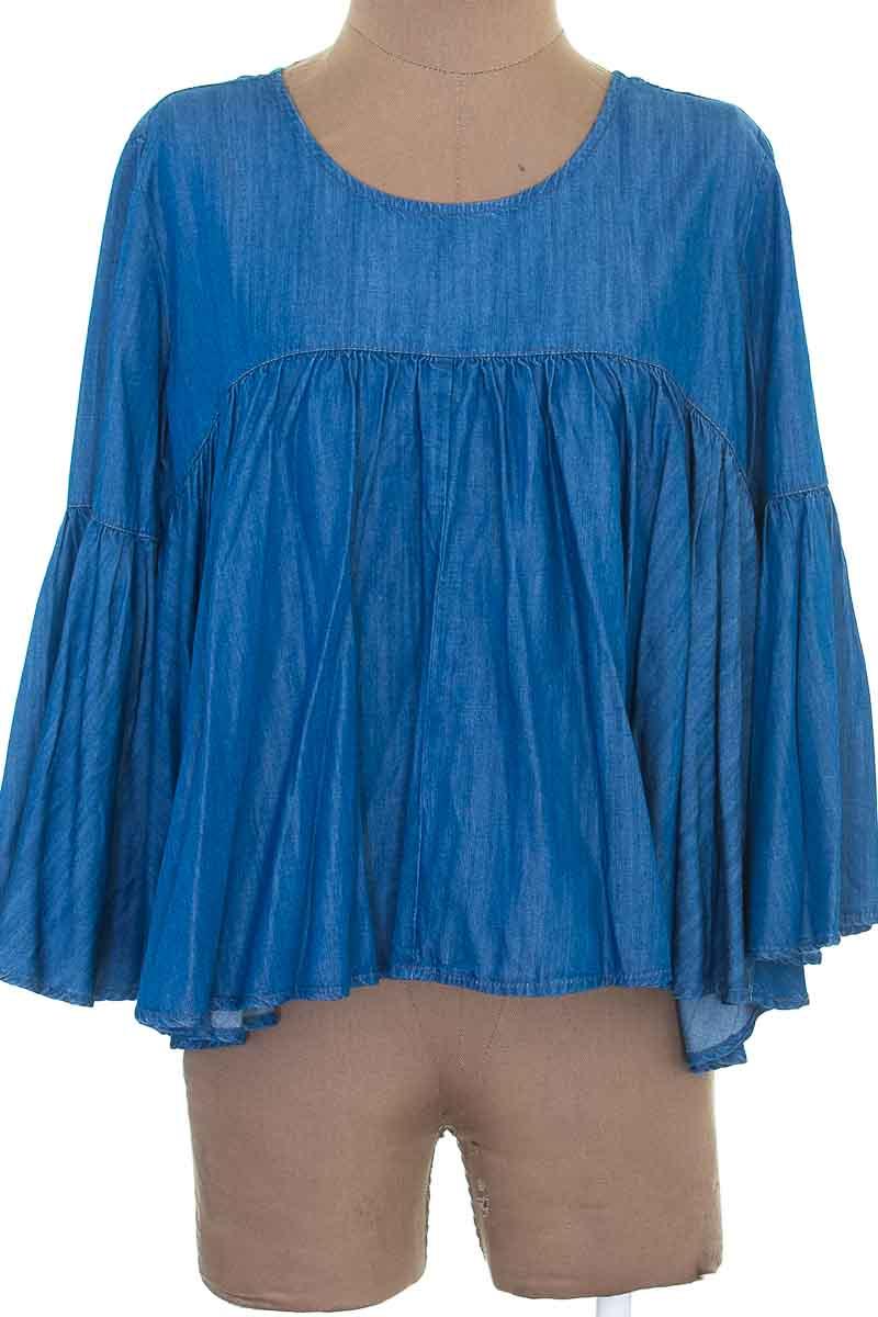 Blusa color Azul - Market