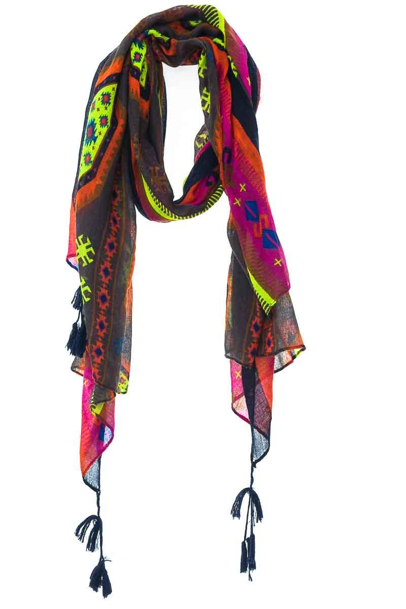 Accesorios Bufanda color Estampado - Closeando