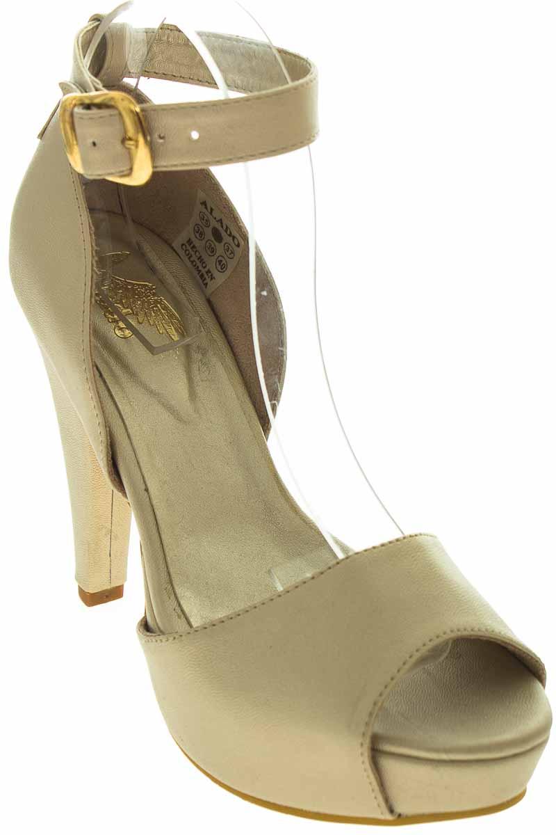 Zapatos Tacón color Beige - Alado
