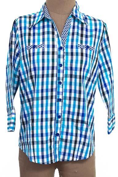 Blusa color Azul - P&P Moda Y Diseños