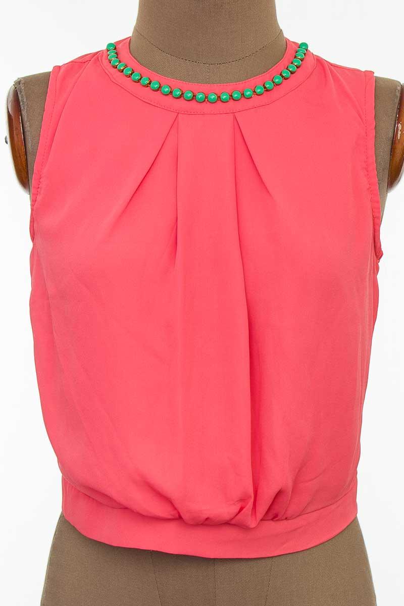 Blusa color Naranja - Closeando