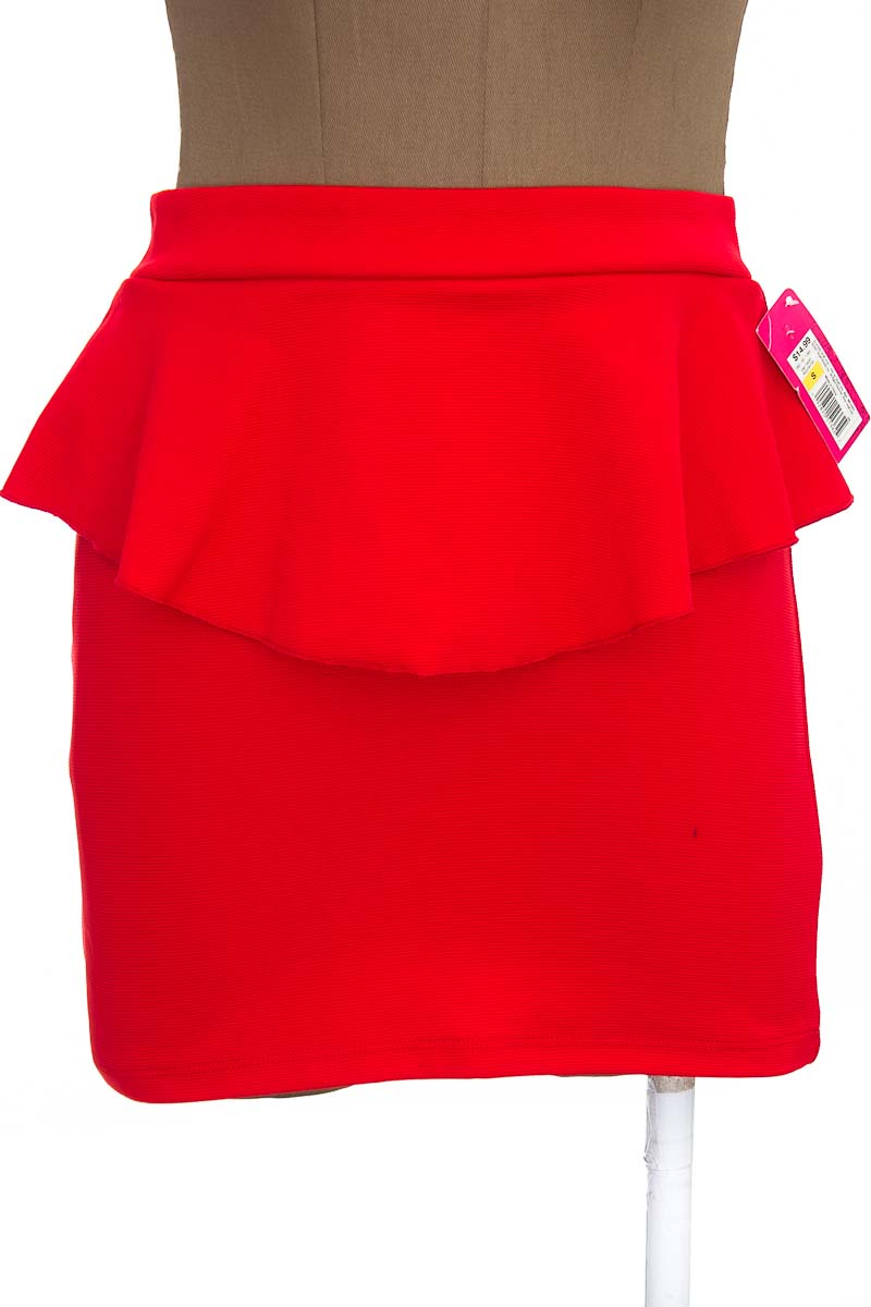 Falda Casual color Rojo - Xhilaration