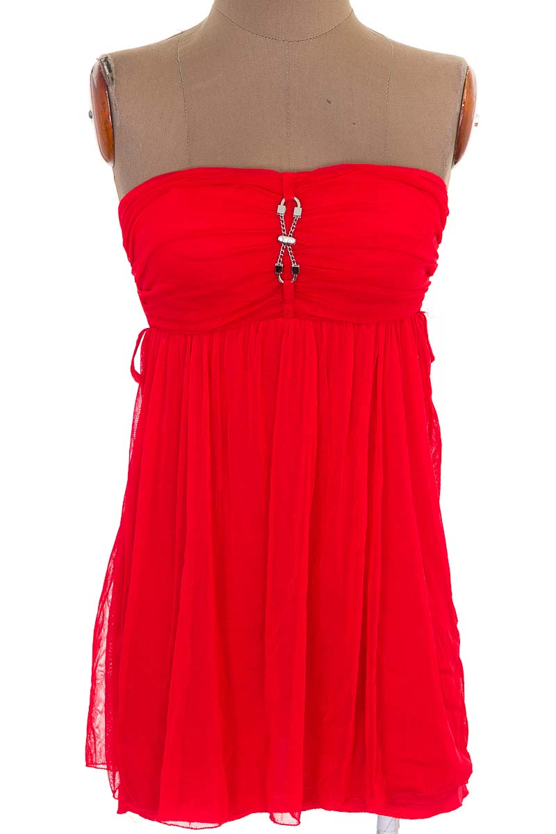 Vestido / Enterizo Casual color Rojo - Closeando