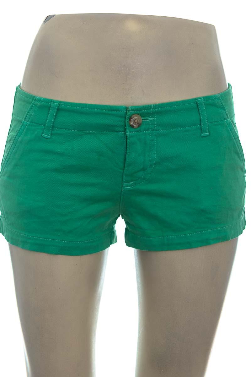 Short color Verde - Hollister