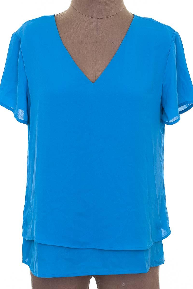 Blusa Casual color Azul - Banana Republic