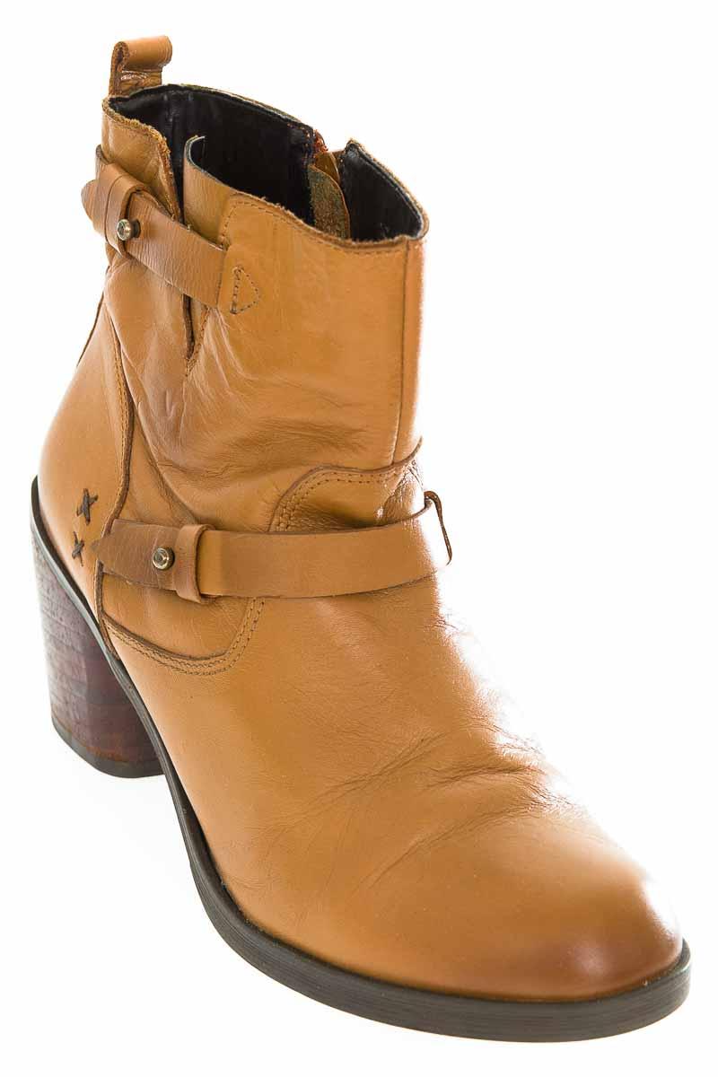 Zapatos Botín color Café - Vélez