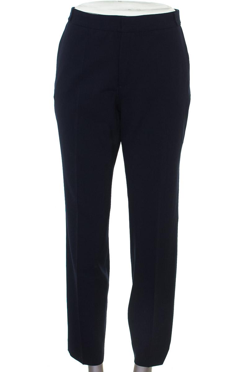 Pantalón Formal color Azul - Zara