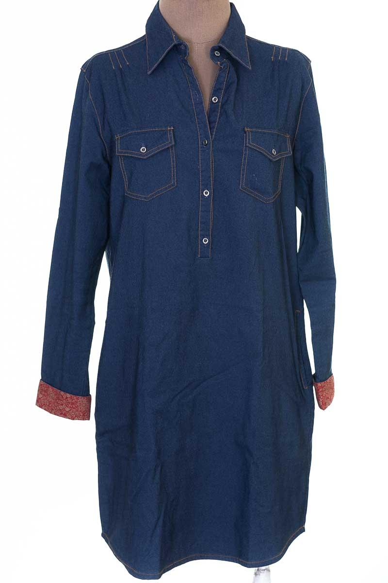 Vestido / Enterizo Casual color Azul - Brahma